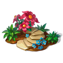 File:Flowerbed with Pink FlowersDecor.png