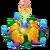 Giant Yellow FlowerDecor