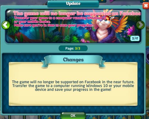 FacebookUnsupported