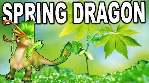 Spring Dragon - DRAGONS WORLD