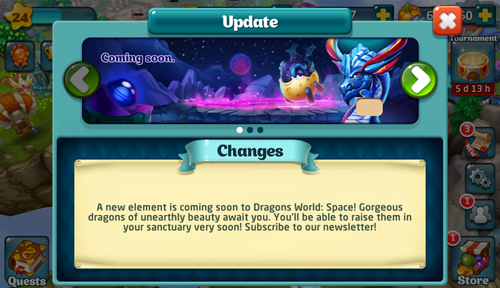Space Element Announce