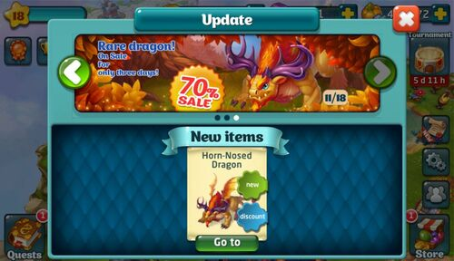 Horn-Nosed Dragon Update