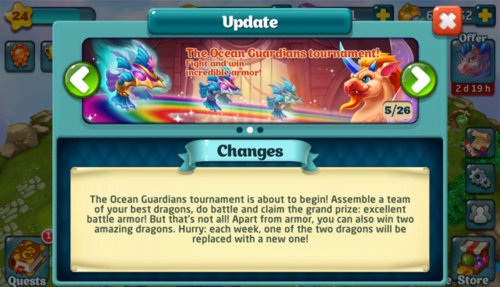 Tournament LX Update