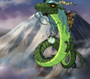 Green Dragon ( Scooby Doo and Samurai Sword 2009 )