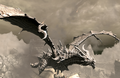 Alduin over Helgen.png