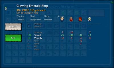 Glowing Emerald Ring