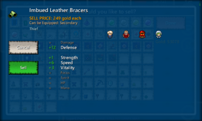 Imbued Leather Bracers