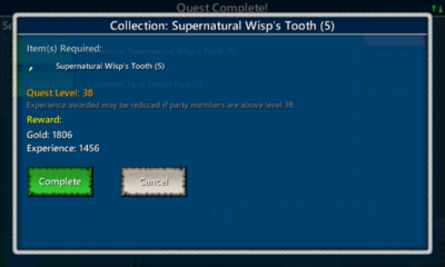 Collection-Supernatural Wisp Tooth