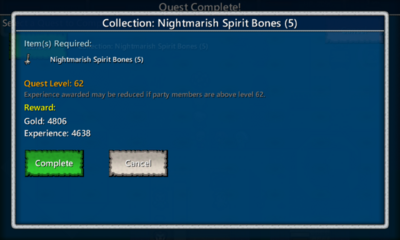 Collection-Nightmarish Spirit Bones