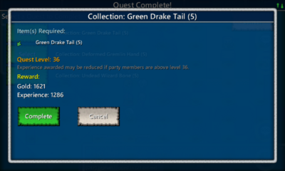 Collection-Green Drake Tail