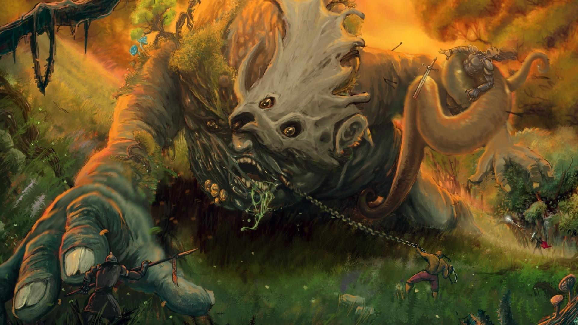 Fantasy Art Creatures HD Wallpapers
