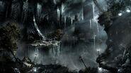 War black dark night destruction apocalypse fantasy art science fiction cities 1920x1080 wallpape www.wallpaperhi.com 13
