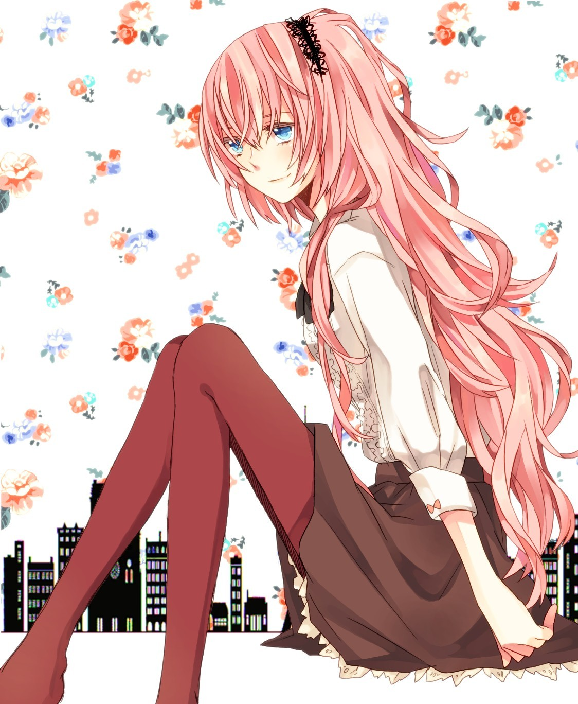 Vocaloid megurine luka long hair anime hd wallpapers jpg