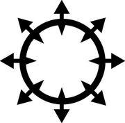 Raven Beartrap s Chaos Symbol by krazedkei