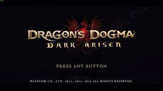 "Dragons Dogma Dark Arisen - ""Tutorial Character Creation"""
