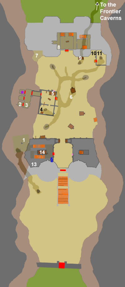 Shadow fort ground