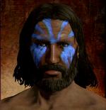 Blue Face Pigment