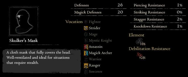 Dragonforged Skulker's Mask