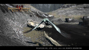 Dragon's Dogma - Dark Arisen Screenshot Harpy