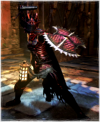 Fighter Hellfire Set Devilsbane Dread Aspis