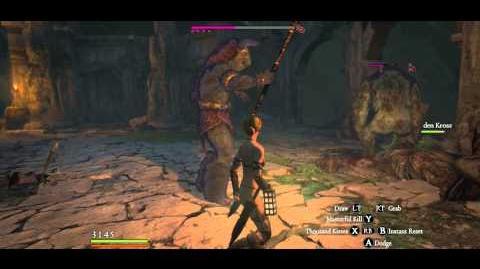 3 Elder Ogres 3 Eliminators slain with only Rusted Daggers E, Arisen undamaged
