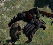 Unarmed Jump Attack