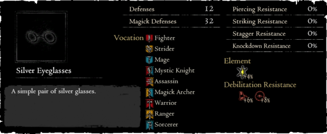 Dragonforged Silver Eyeglasses