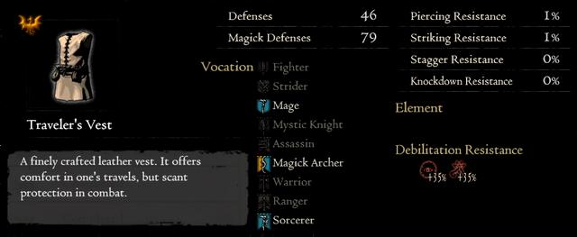 Gold Rarefied Traveler's Vest