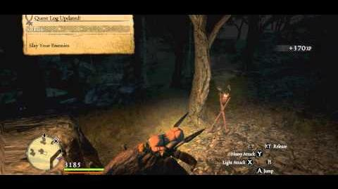 Sisters in Peril quest video walkthrough C. Six Ogres lurk around The Abbey at night