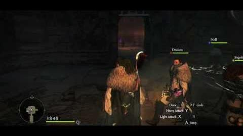 Dragon's Dogma Dark Arisen Online Ur Dragon Kill Strategy, Three Striders and one Sorcerer-0