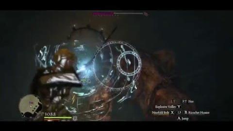 Ninefold Bolt vs 2 Condemned Gorecyclops