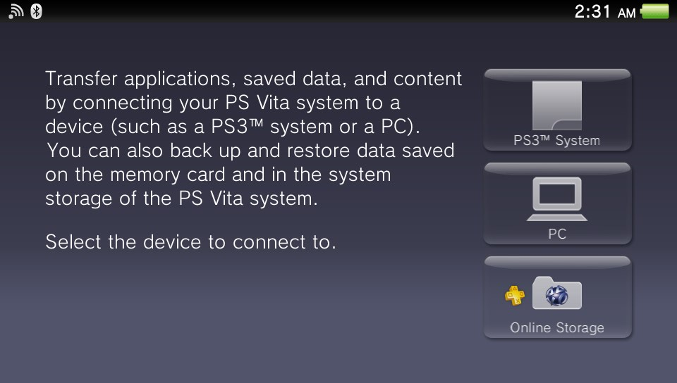 Ps vita content manager download windows 7.