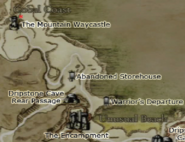 Dragon's Dogma - The Mountain Waycastle Map Location