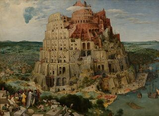 800px-Pieter Bruegel the Elder - The Tower of Babel (Vienna) - Google Art Project