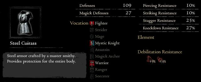 Dragonforged Steel Cuirass