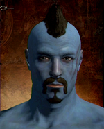 Blue Skin Pigment