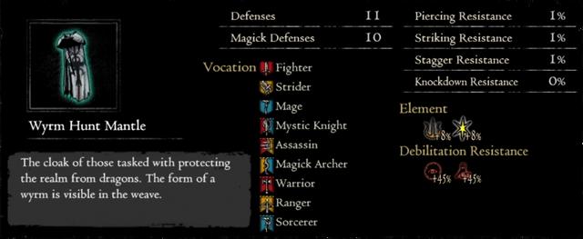 Dragonforged Wyrm Hunt Mantle