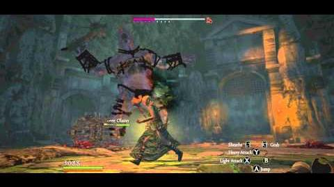 Black Abbey B2, Condemned Gorecyclops Gorecyclops Cyclops slain with only Rusted Staff