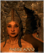 Armour Head Faerie Hood