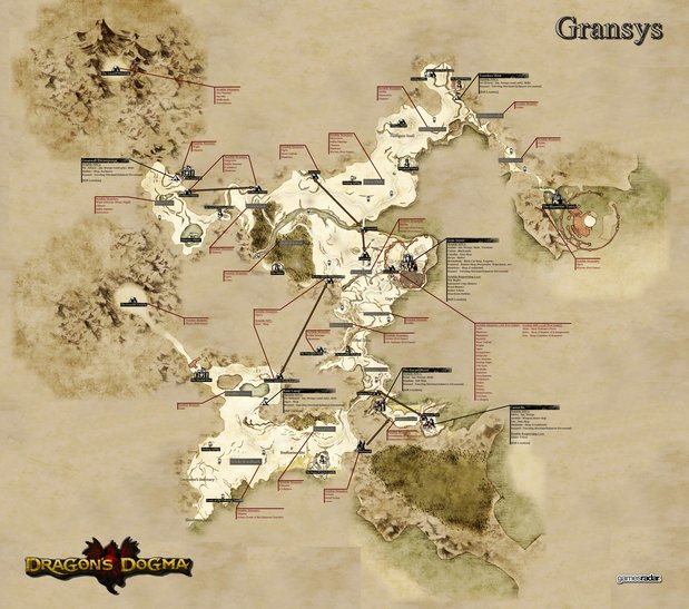 Lovely Dragonu0027s Dogma Detailed MAP