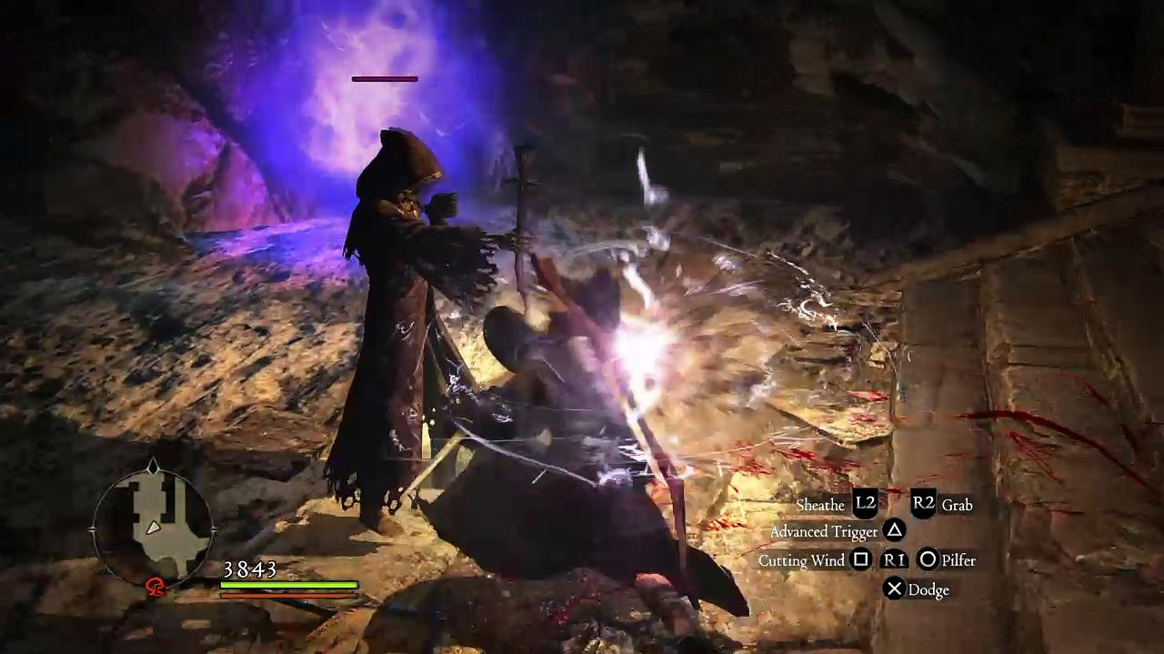 Stealing from Skeleton Sorcerer and how not to fight Phantasm