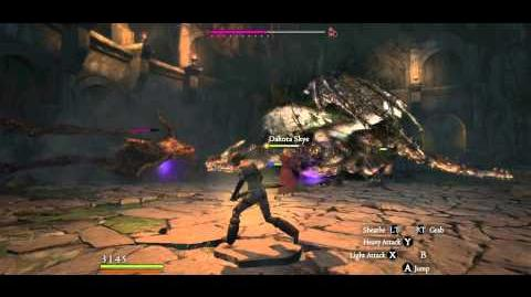 2 Cursed Dragons slain with only Rusted Daggers B, Arisen undamaged
