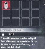 Dragon's Dogma - Lantern (Half-Full) (Full)