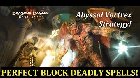 Perfect Blocking enemy spells. Mystic Knight vs Daimon.