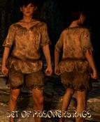 Set of Prisoner's Rags