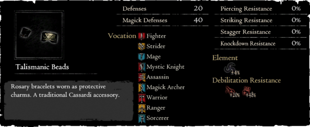 Dragonforged Talismanic Beads