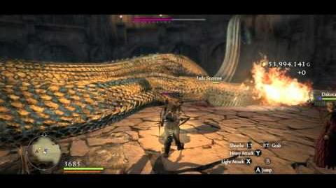Strider vs Archydra in the Chamber of Hesitation