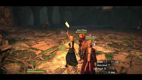 Black Abbey F, 4 Gold Silver Knights 5 Skeleton Sorcerers, party undamaged, Hard mode