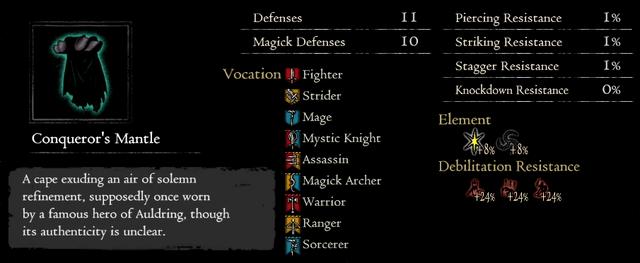 Dragonforged Conqueror's Mantle