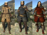 Armor, Clothing and Weapon Sets